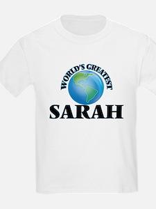 World's Greatest Sarah T-Shirt