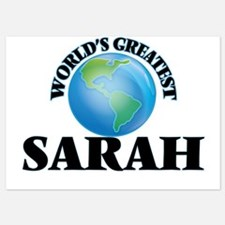 World's Greatest Sarah Invitations