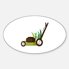 Lawn Mower Decal