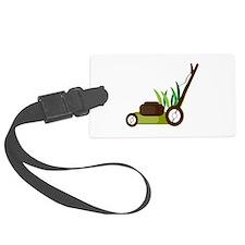 Lawn Mower Luggage Tag