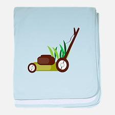 Lawn Mower baby blanket