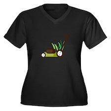 Lawn Mower Plus Size T-Shirt