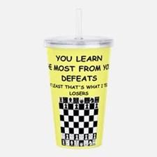 chess Acrylic Double-wall Tumbler