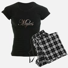 Gold Myles Pajamas