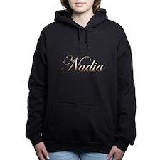 Gold Nadia Women's Hooded Sweatshirt