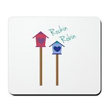 Rockin Robin Mousepad