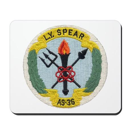 USS L. Y. SPEAR Mousepad