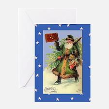 Santa Naughty or Nice Greeting Card