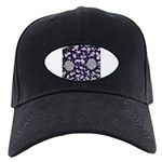 Abstract Whimsical Flowers Baseball Hat