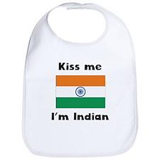 Kiss Me Im Indian Bib