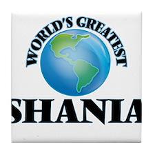 World's Greatest Shania Tile Coaster