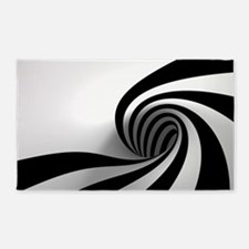 Licorice Swirl 3'x5' Area Rug