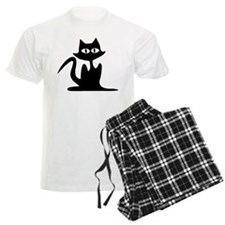 HALLOWEEN BLACK CAT Pajamas