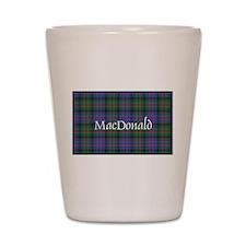 Tartan - MacDonald Shot Glass