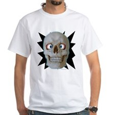 Halloween Cross-Eyed Skull Shirt