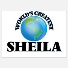 World's Greatest Sheila Invitations