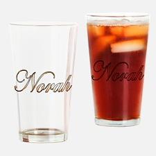 Gold Norah Drinking Glass