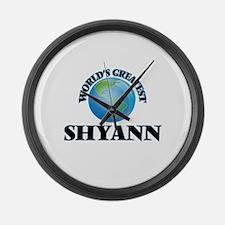 World's Greatest Shyann Large Wall Clock