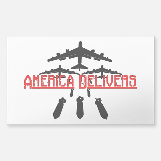 America Delivers Decal