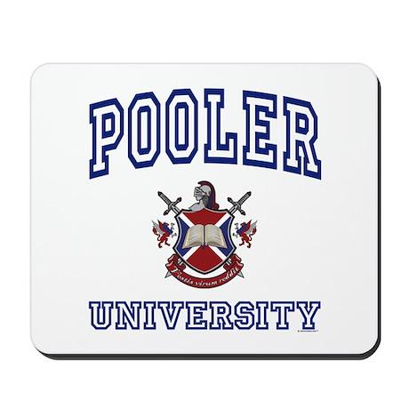POOLER University Mousepad
