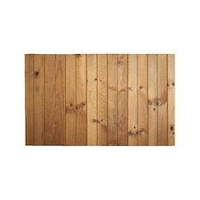 Wood Floor 3'x5' Area Rug