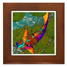 Gingko Framed Tile