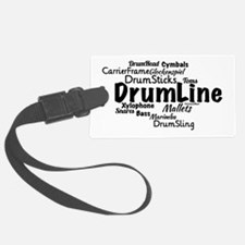 DrumLine Luggage Tag
