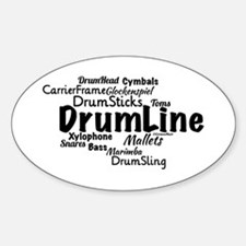 DrumLine Decal