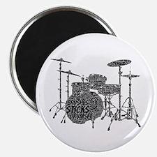 DrumSet Magnets