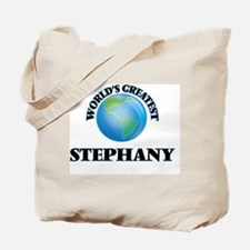 World's Greatest Stephany Tote Bag