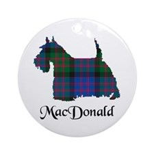 Terrier - MacDonald Ornament (Round)