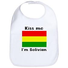 Kiss Me Im Bolivian Bib