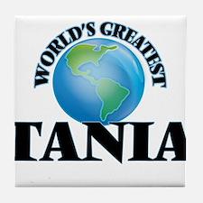 World's Greatest Tania Tile Coaster