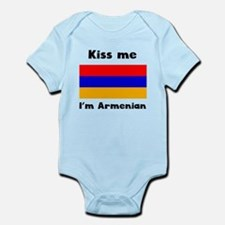 Kiss Me Im Armenian Body Suit