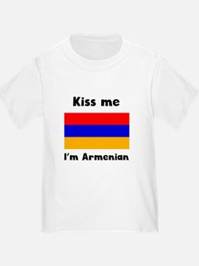 Kiss Me Im Armenian T-Shirt