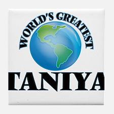 World's Greatest Taniya Tile Coaster