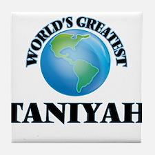 World's Greatest Taniyah Tile Coaster