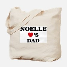 Noelle loves dad Tote Bag