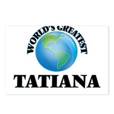 World's Greatest Tatiana Postcards (Package of 8)