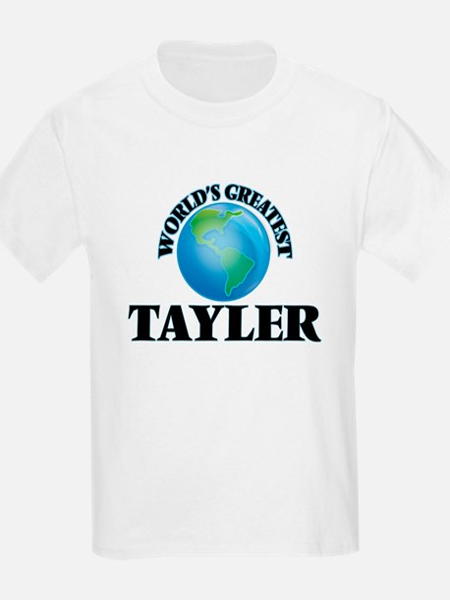 World's Greatest Tayler T-Shirt