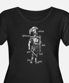 Armor of God Plus Size T-Shirt