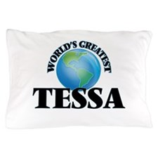 World's Greatest Tessa Pillow Case
