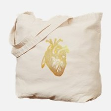 Funny Anatomy heart Tote Bag