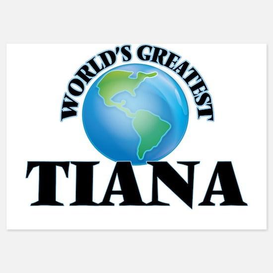World's Greatest Tiana Invitations