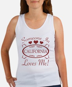 Somebody In California Loves Me Tank Top