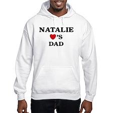 Natalie loves dad Hoodie Sweatshirt