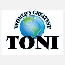 World's Greatest Toni Invitations