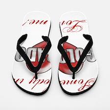 Somebody In Colorado Loves Me Flip Flops