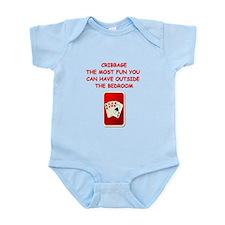 cribbage Infant Bodysuit