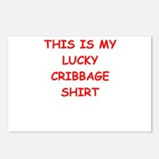 CRIBBAGE Postcards (Package of 8)